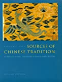 Sources of Chinese Tradition (Introduction to Asian Civilizations)