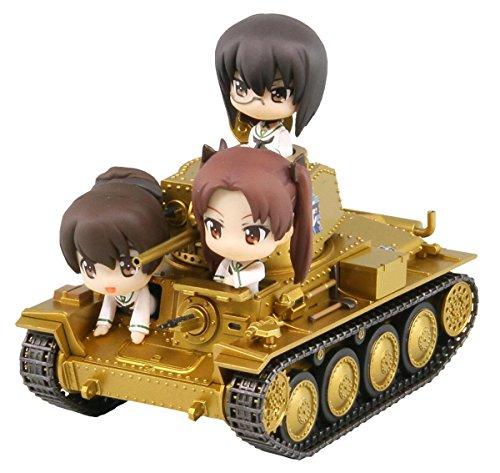 ぺあどっと ガールズ&パンツァー 38t 戦車B/C型 エンディングVer.親善試合時 ノンスケール 全長約82mm 塗装済み完成品 PD21SP
