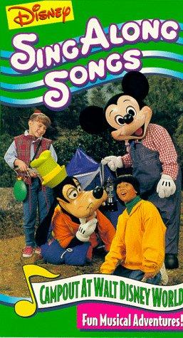 Disney Sing Along Songs: Campout at Disney World [VHS]