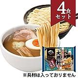 レンジで汁無し麺 大勝軒監修 豚骨魚介つけ麺 4食セット