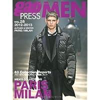 gap PRESS MEN vol.28(2012ー201 PARIS,MILAN MEN'S COLLECTIONS (gap PRESS Collections)