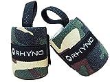 RHYNO(ライノ) リストラップ リストストラップ / トレーニング 筋トレ 手首 の 保護 サポーター / 選べる4色 (グリーン)