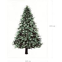 Tumao クリスマスツリー タペストリー 壁掛け クリスマス 飾り Merry Christmas クリスマスデコレーション ガーランド バナー 壁 窓 インテリ (215cm*145cm)