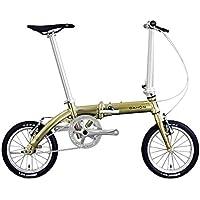 ダホン(DAHON) Dove Plus 14インチ 折り畳み自転車 シングル変速 6.97kg