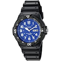 Casio Men's 'Classic' Quartz Resin Watch, Color:Black (Model: MRW200H-2B2V)