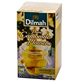 Dilmah Infusion Pure Camomile Flowers Foil Wrapped T/B, 20x30g