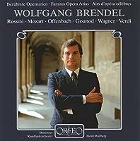 ヴォルフガング・ブレンデル/アリア集(Wolfgang Brendel - Famous Opera Arias)
