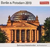 Berlin & Potsdam 2019: Sehnsuchtskalender, 53 Postkarten