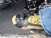 レザーMotorcycle Shoe Boot Protecter Shifter Scuff