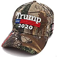Bestify Donald Trump Hat Camouflage Cap Keep America Great MAGA Hat President 2020 American Flag USA