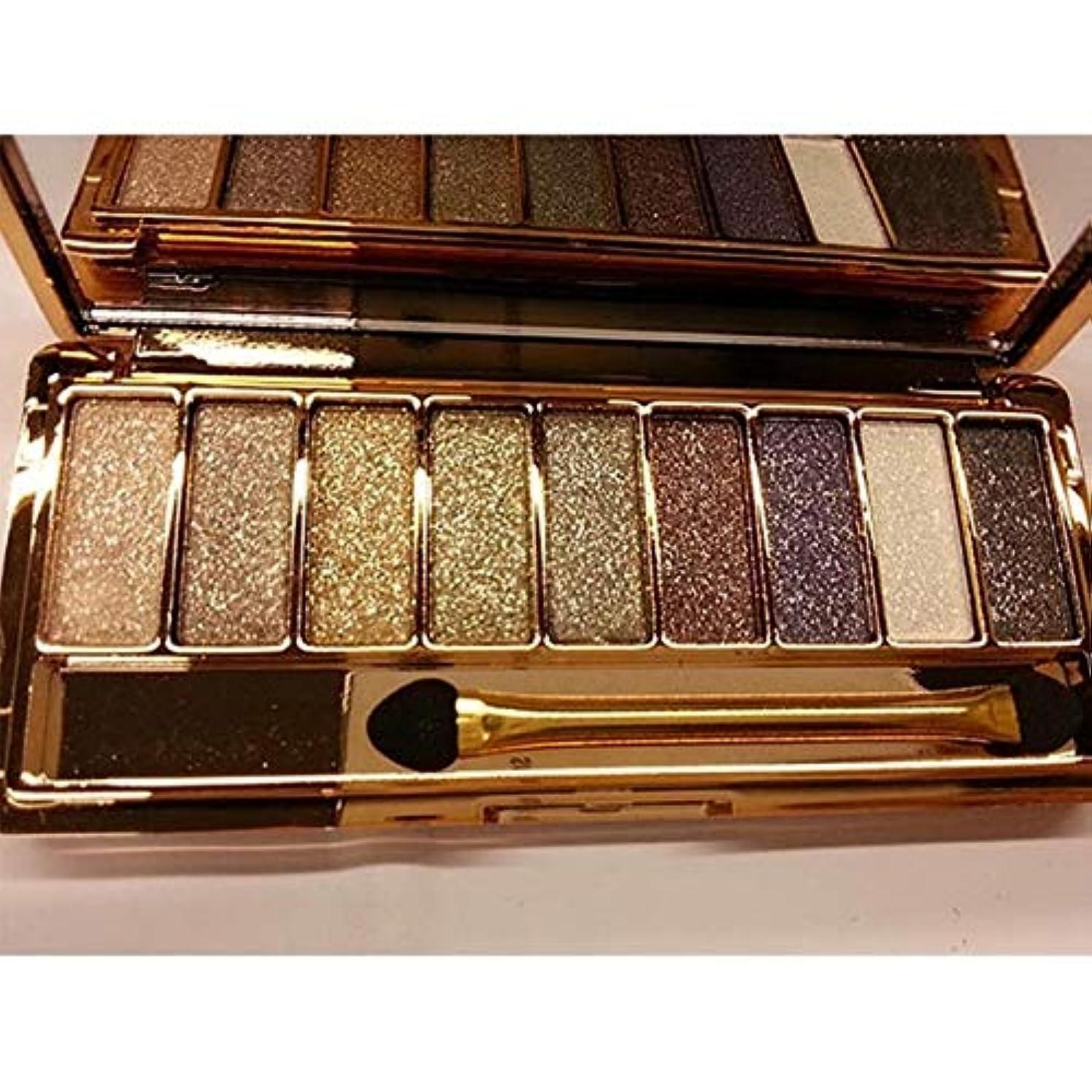 冷酷な注文マークダウン健康と美容アイシャドウ 3 PCS 9色アイシャドウパレットグリッターマットアイシャドウパレット(LPP001229-1) 化粧 (色 : LPP001229-3)