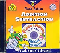 [スクール ゾーン]School Zone Flash Action Addition & Subtraction 0-88743-570-X [並行輸入品]