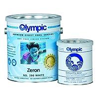 Kelley Technical Coating 390-GL Olympic Zeron Zeron One Coat Epoxy Gallon, White