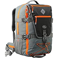Cabin Max Equator 2.0 Flight Approved Backpack with Rain Cover, Waist and Chest Straps