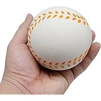 スクイーズ POTOJP 柔らかい 低反発 カッコイイ 野球 squishy 球技サンプル フワフワ 押し出すおもちゃ スクイーズ収集 香り 子供 プレゼント 大人 ストレス発散 減圧おもちゃ 鍛える玩具