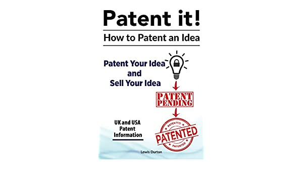 amazon patent your idea sell your idea patent an idea patent an