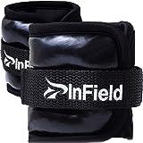 (InField) アンクルウェイト リスト ウォーキング ダイエット エクササイズ 体幹トレーニング リストウェイト アンクルウェイト パワーアンクル リストバンド 筋トレ 0.5kg