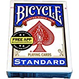 Bicycle Standard Index Playing Cards - Red or Blue