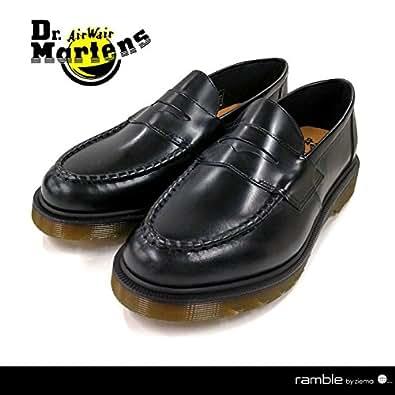 【Dr.Martens ドクターマーチン】ブラック ポリッシュスムースレザー ペニーローファー ABBOTT(14514001) ブラック UK8