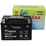 【Amazon.co.jp限定】 TAIWAN YUASA 【台湾ユアサ】正規品 AGM-バイク用バッテリー クロス付 YTX9-BS