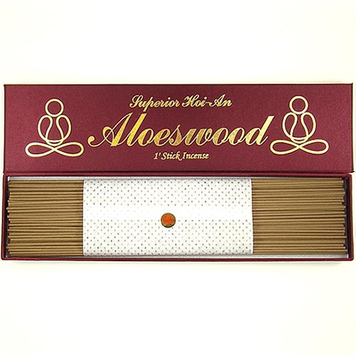 迫害有効平方優れたグレードベトナム語hoi-an (jinko) Aloeswood – 1 ' Stick Incense – 100 % Natural – g105s