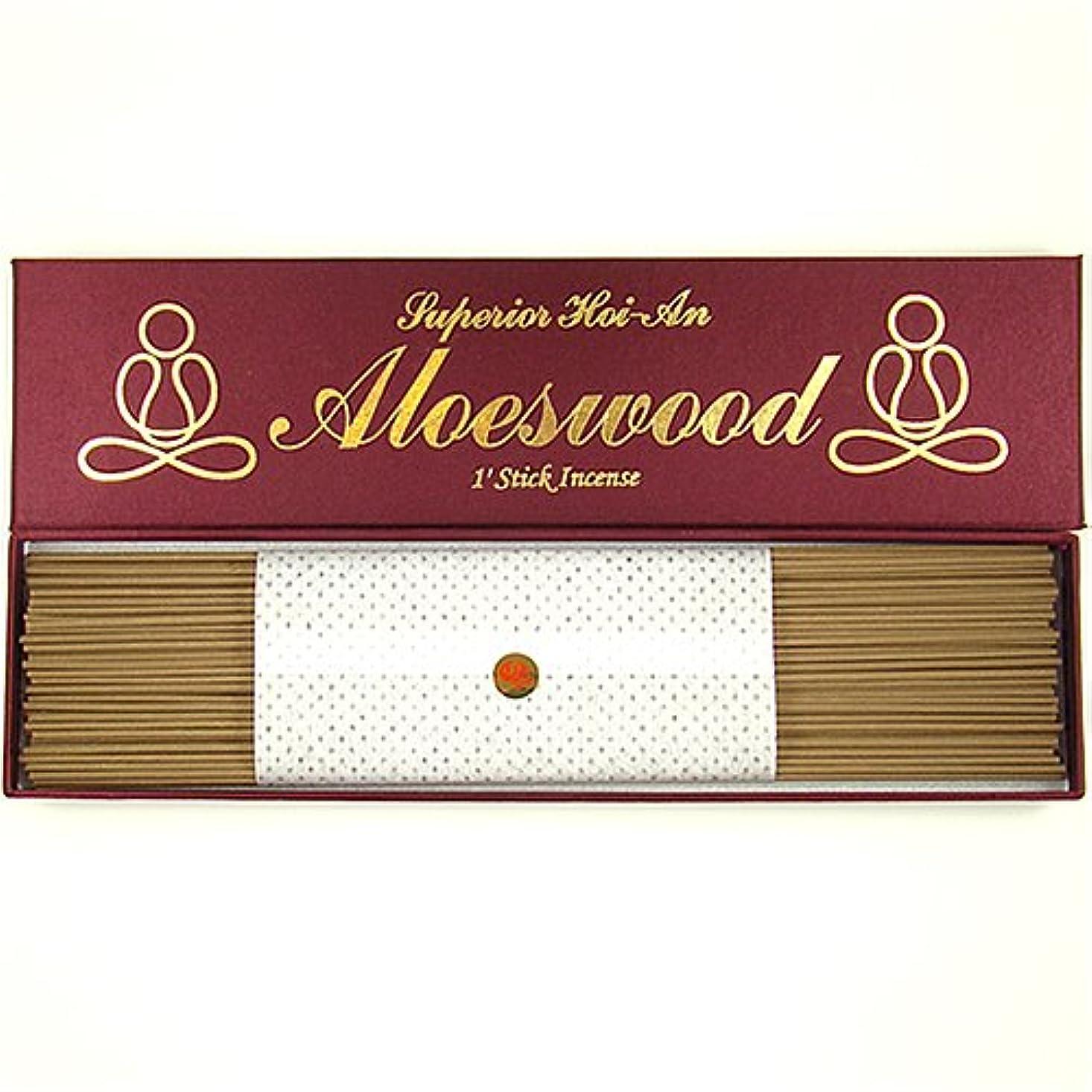 締める入り口へこみ優れたグレードベトナム語hoi-an (jinko) Aloeswood – 1 ' Stick Incense – 100 % Natural – g105s