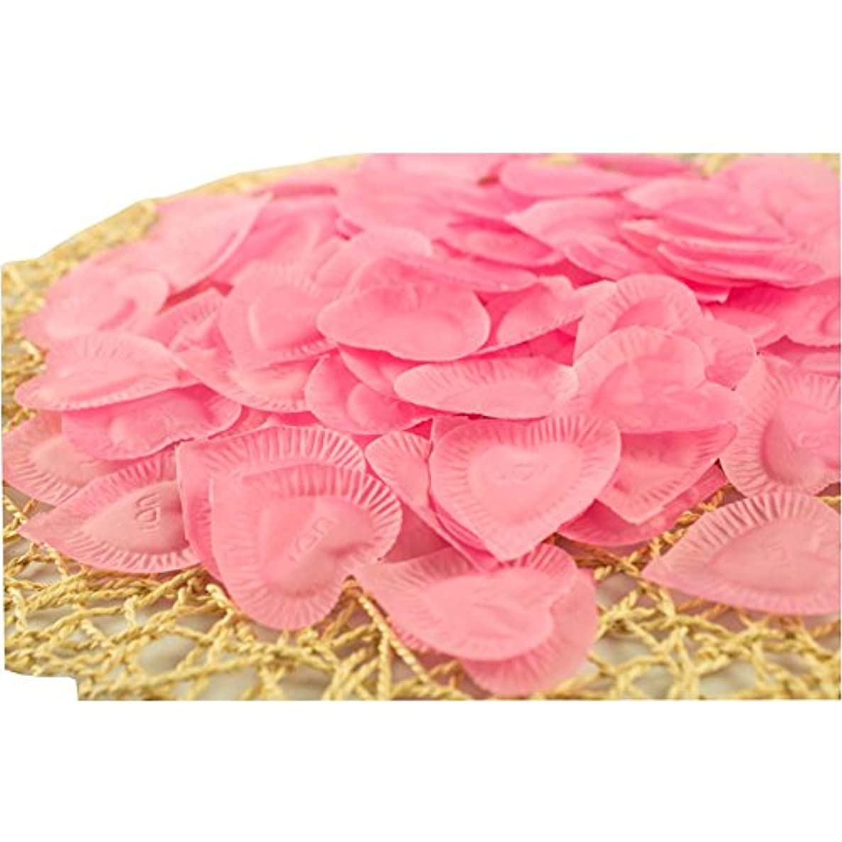 鳩悔い改め金銭的な結婚式のための人工花びらのバレンタイン840個