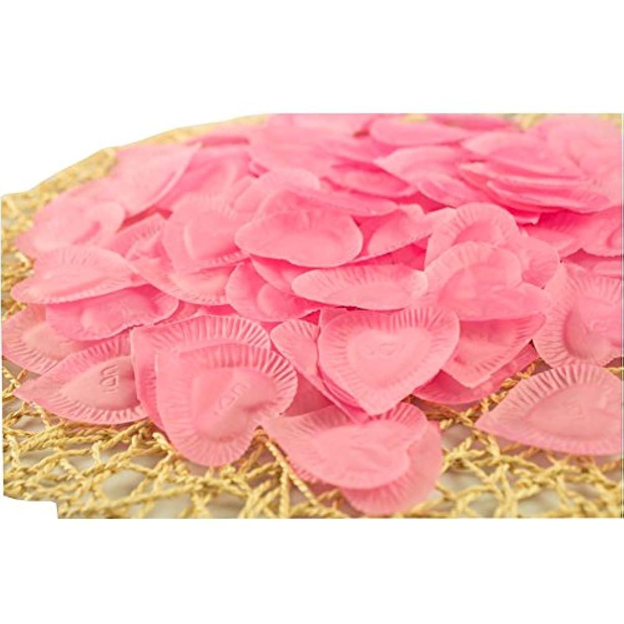 忌み嫌う止まる水族館結婚式のための人工花びらのバレンタイン840個