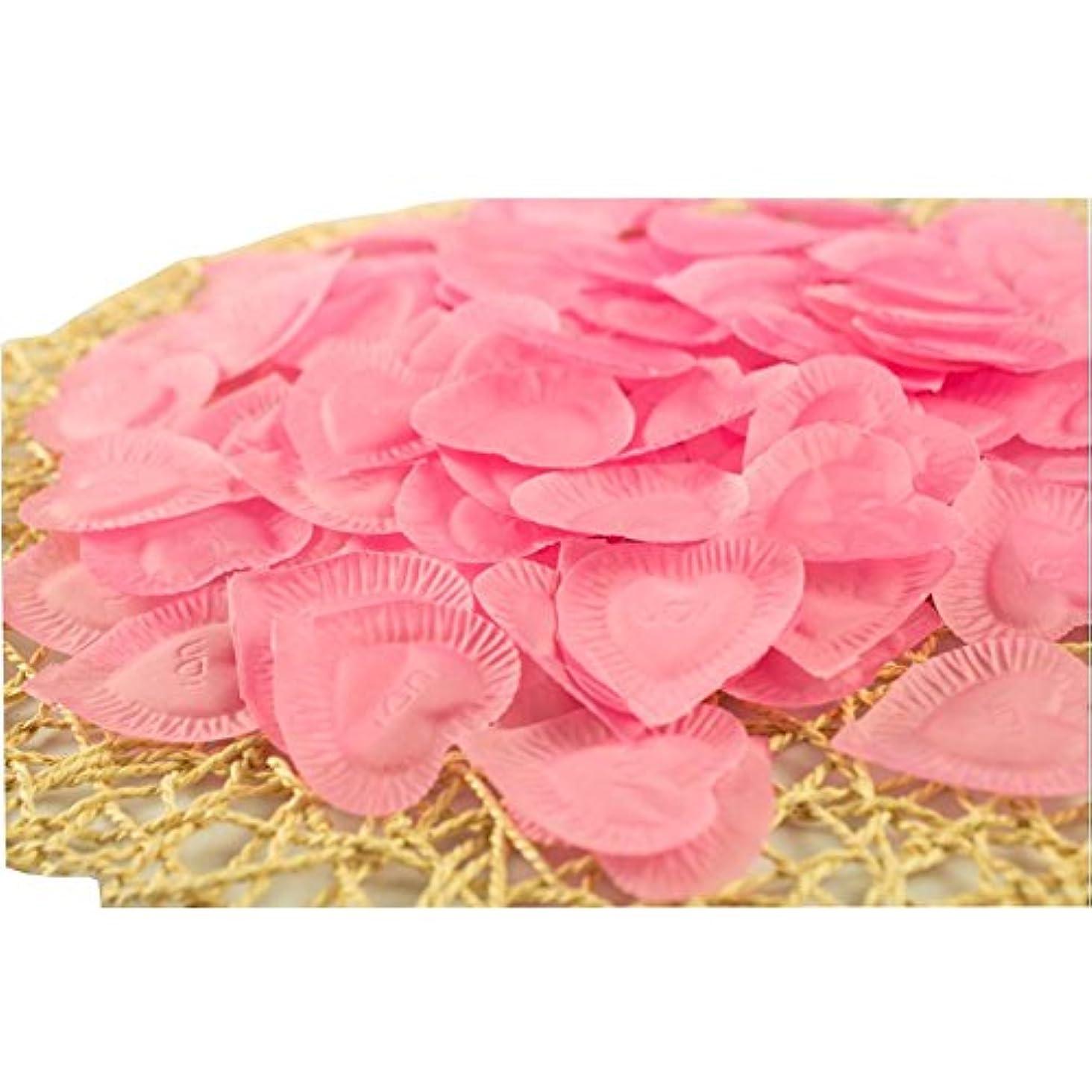 受ける美容師ロータリー結婚式のための人工花びらのバレンタイン840個