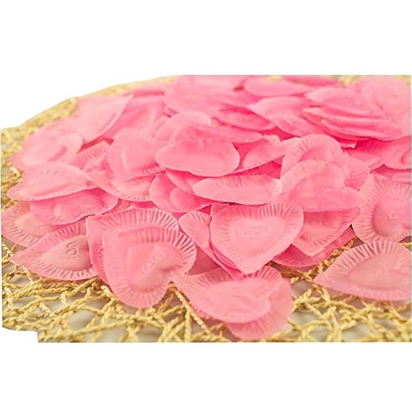 地中海権限素人結婚式のための人工花びらのバレンタイン840個