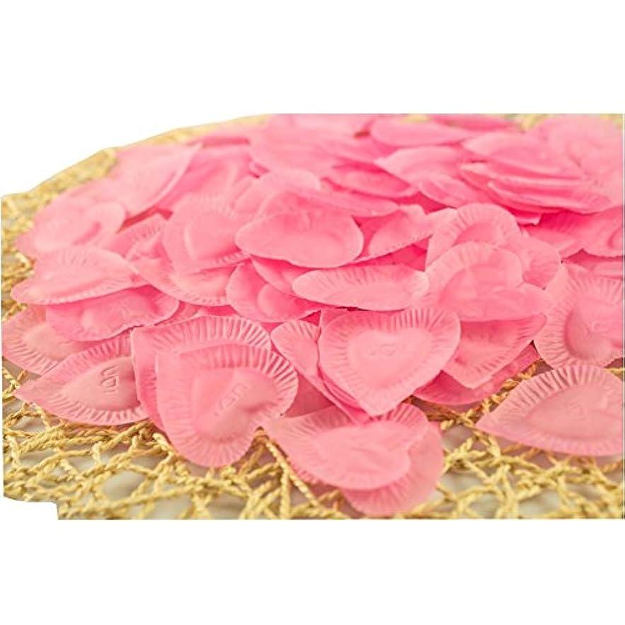木曜日まつげオーバーヘッド結婚式のための人工花びらのバレンタイン840個