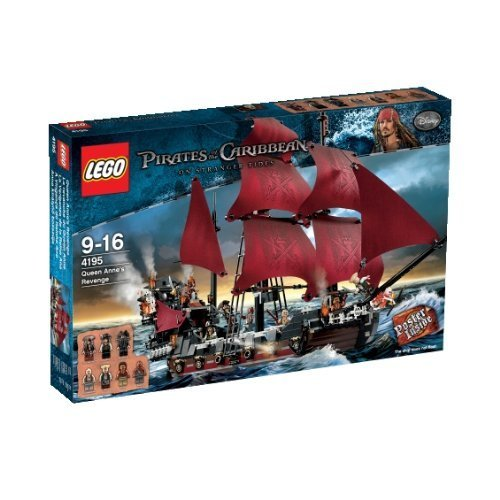 輸入レゴ LEGO Pirates of the Caribbean 4195: Queen Anne's Revenge [並行輸入品]
