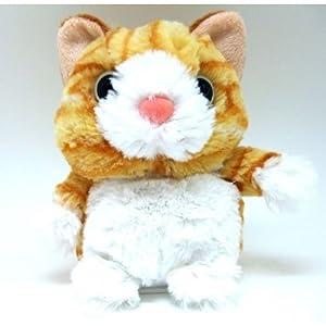 ものまねぬいぐるみ こえまねミーちゃん ( ネコちゃん )寺子屋 人の声を真似てピョンピョン踊る こえマネ ぬいぐるみ ネコ