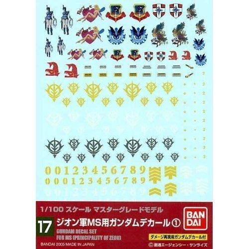 1/100 ガンダムデカール MG 汎用-ジオン用1 (17)