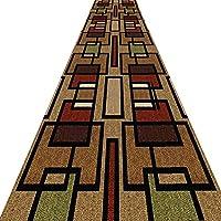 KKCF 廊下のカーペット滑り止め耐摩耗性反らない切れる化学繊維 、複数のサイズ (色 : A, サイズ さいず : 0.7x3m)