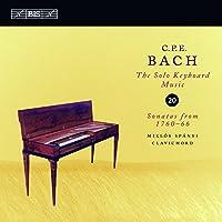 C.P.E.バッハ:鍵盤独奏曲全集 Vol.20 (1760-66年のソナタ) (C.P.E. Bach : Solo Keyboard Music Vol.20 / Miklos Spanyi)