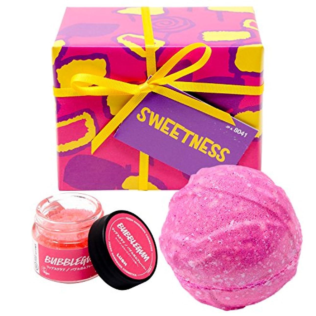 圧縮する雨のお勧め(ラッシュ) LUSH Sweetness スウィートネス ギフトセット ショップバッグ付き