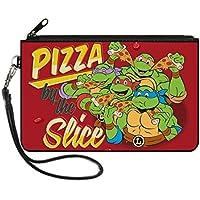"""Buckle-Down Buckle-Down Zip Wallet Ninja Turtles Large Accessory, Ninja Turtles, 8"""" x 5"""""""