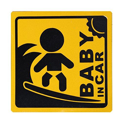 BABY IN CAR 赤ちゃん乗車中 マグネット 外貼り ...