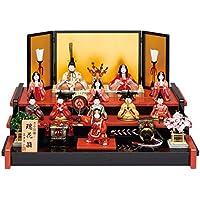 人形工房天祥 雛人形 真多呂作 木目込み人形 三段飾り 古今段飾り 瑞花雛11人揃セット