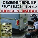 g-select 車輌塗装用1液ウレタン艶消し塗料「MAT.SELECT」刷毛・ローラー塗装可能 ミリタリーカラー 【M-19】レッド 500g缶