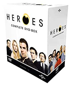 【Amazon.co.jp限定】HEROESコンプリートDVD BOX (ポストカード付き)