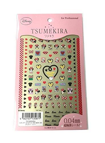 ツメキラ(TSUMEKIRA) ネイル用シール ディズニー ミニー ND-MIN-101
