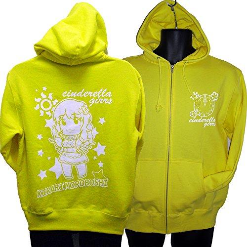シンデレラガールズパーカー 諸星きらり (XL, 黄色)