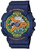 CASIO カシオ G-SHOCK GA-110FC-2Aブルー 海外モデル Crazy Colors メンズ 腕時計 【逆輸入品】