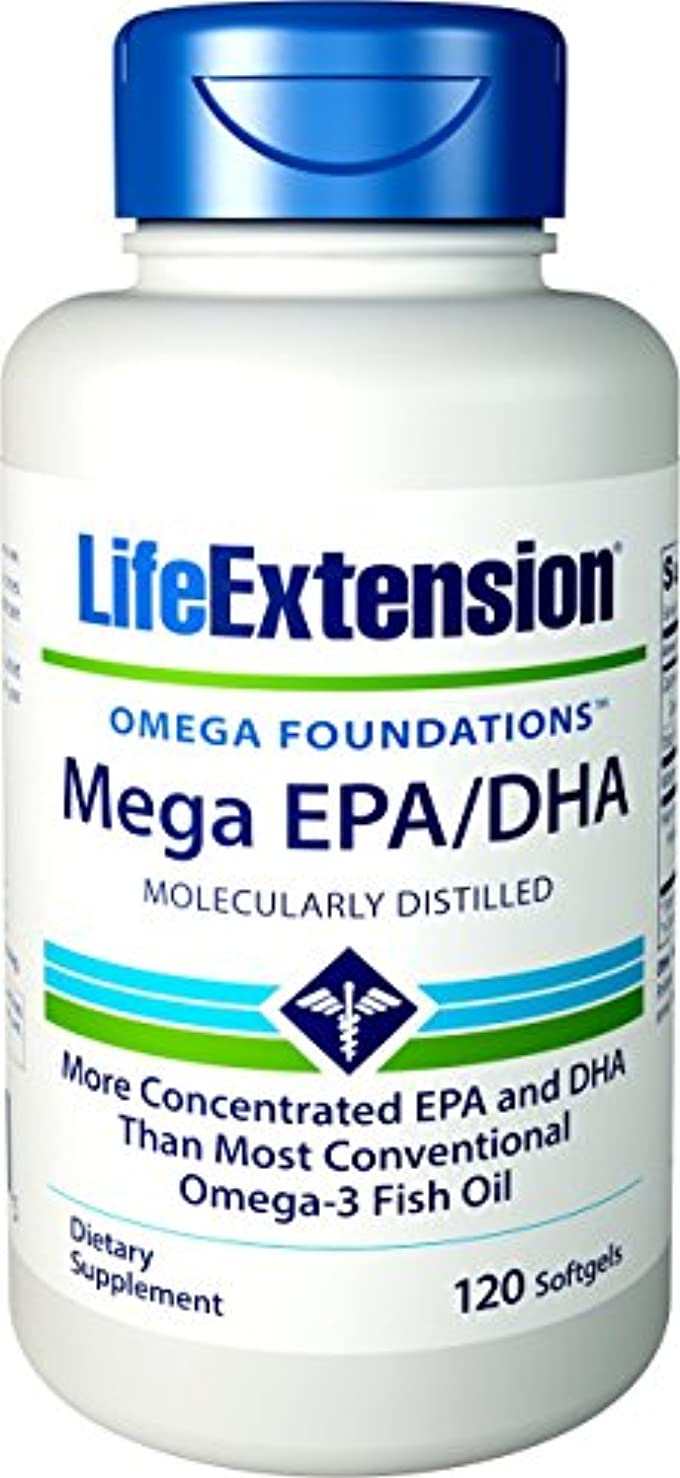 ブロー形渇きMEGA EPA DHA 120 SOFTGELS 海外直送品