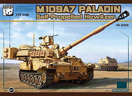 パンダホビー 1/35 アメリカ陸軍 M109A7 自走榴弾砲 w/金属履帯&フィギュア1体 プラモデル PNH35028