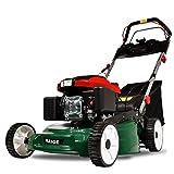 HAIGE エンジン芝刈り機 4サイクル 5馬力 自走式 刈り幅500mm 刈高5段調整 HG-KCL120S17 深緑色