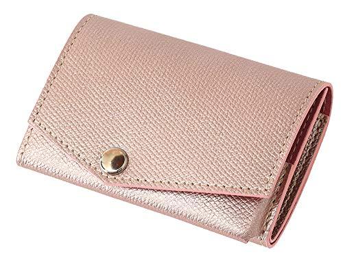 小さい財布 abrAsus アブラサス 左利き用 (プラム)