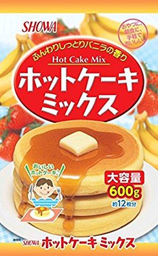 昭和産業 昭和 ホットケーキミックス大容量 600g